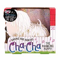 Cha-Cha The Prancing Puppy - White