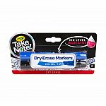 Take Note Dry Erase Markers - Chisel Tip (2-Pack)