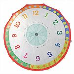 Tick Tock Clock 12ft Parachute
