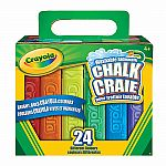 Washable Sidewalk Chalk, 24 Ct