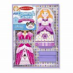 Crowns & Gowns Magnetic Dress-Up Doll