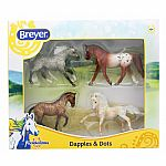 Dapples & Dots Horse 4-Pack