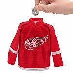 Detroit Red Wings Mini Jersey Coin Bank