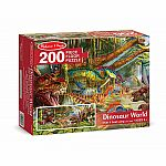 Dinosaur World Floor Puzzle - Melissa & Doug