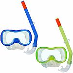 Diverdown Goggles and Snorkel