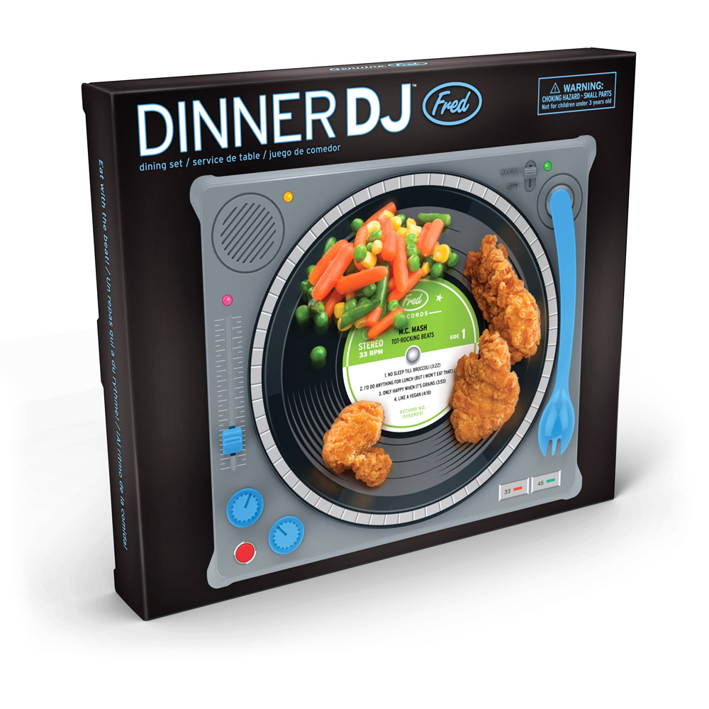 Fred And Friends Dinner Dj Dining Set Toy Sense
