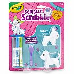 Scribble Scrubbie Pets 2-Pack, Dog & Dog