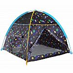 Glow-in-the-Dark Galaxy Dome Tent