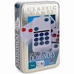 Double 9 Colour Dominoes Tin