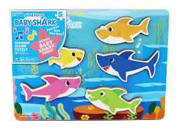 Baby Shark Wooden Puzzle