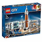 Lego City: Deep Space Rocket and Launch Control.