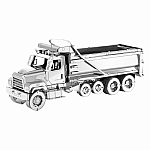 Metal Earth 114SD Dump Truck