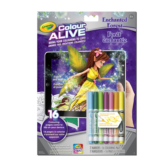 colour alive enchanted forest