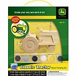 John Deere Classic Tractor - Wooden Painting Kit