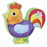 Farm Animals - 5 Wooden Puzzles