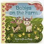 Babies On The Farm - Lift-a-Flap Board Book