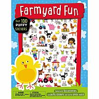 Farmyard Fun Puffy Stickers