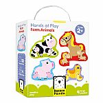 Hands at Play: Farm Animals Puzzles