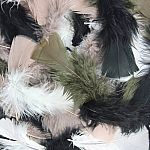 Turkey Plumage Feathers - Natural Colours Assortment