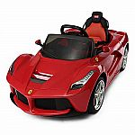 12V Ferrari LaFerrari Kids Electric Ride On Car