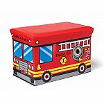Fire Engine Toy Box (D)
