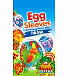 Easter Egg Sleeves: Folk Style