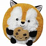 Fox Holding Cookie - Mini Squishable
