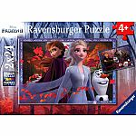 Disney's Frozen 2 Frosty Adventures (2 X 24) - Ravensburger