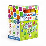 Juicy Fruits Scented Washable Dot Markers
