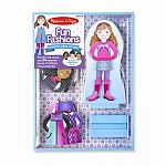 Fun Fashions Magnetic Dress-Up Doll