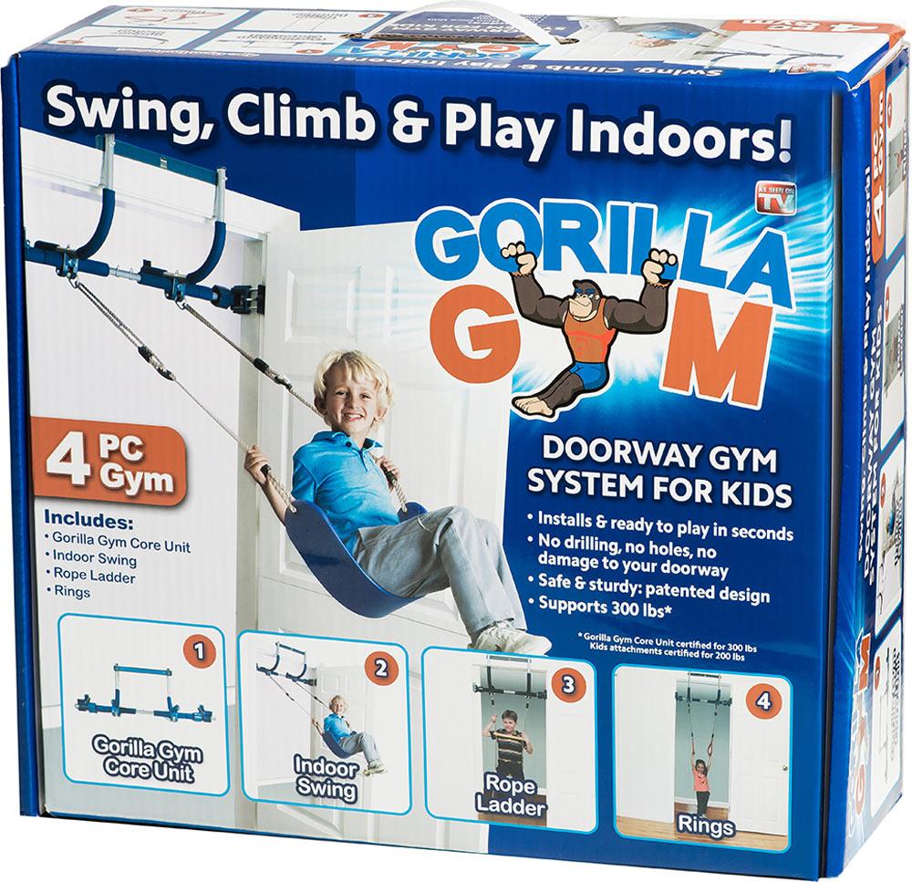 4 Piece Doorway Gorilla Gym For Kids Toy Sense