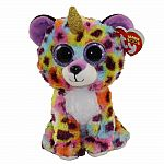 Giselle - Rainbow Leopard with Horn