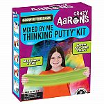 Glow in the Dark Mixed By Me - Crazy Aaron's Thinking Putty