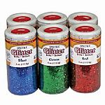 6 Colour Assortment Glitter Crystals
