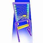 Glow Pad XL with Easel - Purple/Yellow