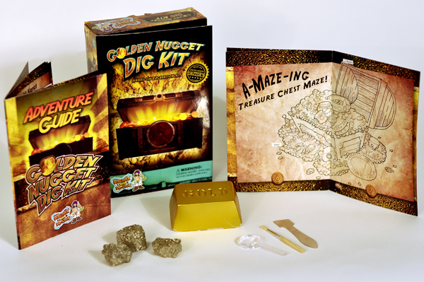 Authentic Fools Gold Geoworld Dig and Discover