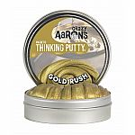 Gold Rush Magnetic - Crazy Aaron's Thinking Putty