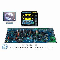 4D Puzzle of Gotham City