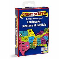 Great States Card Game (D)