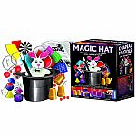 Magic Hat with Secret Compartment - 125 Tricks Set