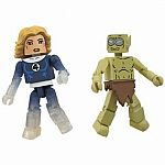 Invisible Woman and Moloid Marvel Minimates