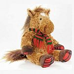 Jolly Jingle Holiday Plush Horse