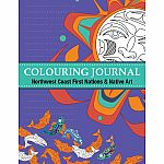 Colouring Journal - Northwest Coast First Nations & Native Art