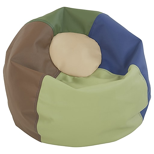 Prime Classic Bean Bag Jr 26 Earthtone Toy Sense Andrewgaddart Wooden Chair Designs For Living Room Andrewgaddartcom