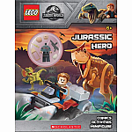 LEGO Jurassic Hero Activity Book with Minifigure