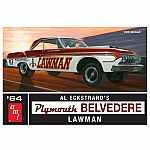1964 Plymouth Belvedere Lawman Super Stock 1:25 Scale
