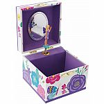 Lilac Secret Garden Music Box