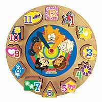 Fisher Price Little People My Time Clock