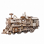 Wooden Mechanical Gears Locomotive