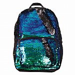 Magic Sequin Backpack- Mermaid/Black
